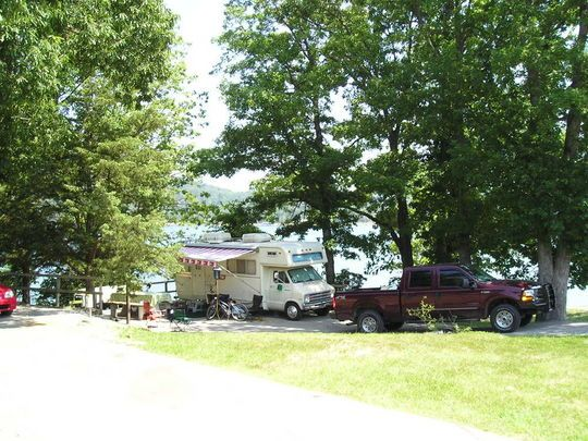 Indian Creek Campground sits along the vast shores of Beaver Lake in the Ozark Mountains of Northwest Arkansas, offering spacious and sunny campsites with an abundance of recreational activities.