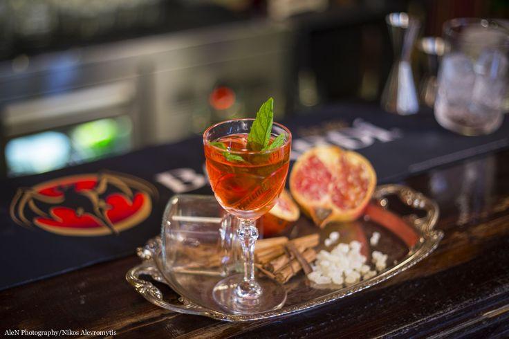 Smyrna Cocktail, η «συμβολική» έμπνευση του Γιώργου Μεγαλοκονόμου για το Bacardi Legacy 2016