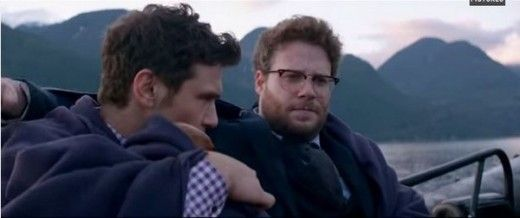 Seth Rogan wearing RX5154 2012 (Clubmasters), in the upcoming movie 'The Interview'