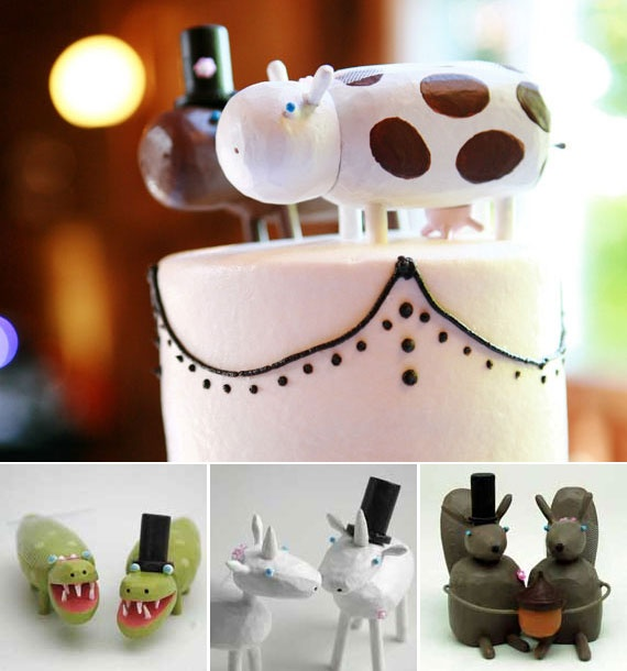 95 best unusual wedding topper images on Pinterest Amazing cakes