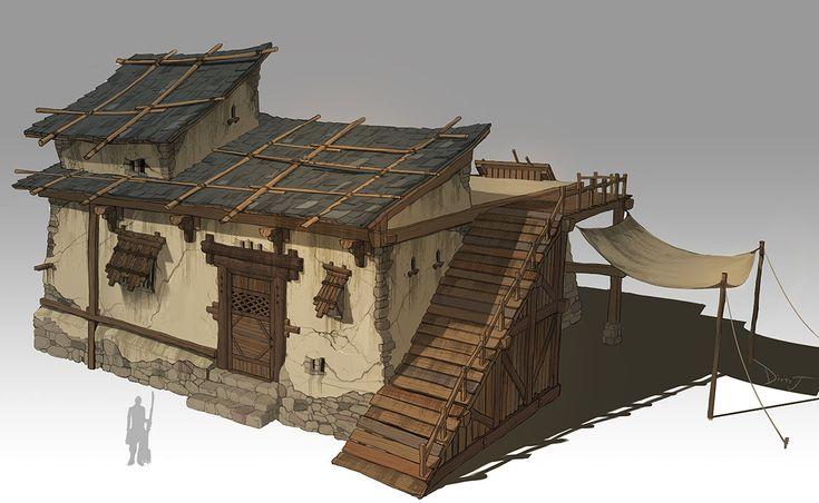 The Secret Of Monkey Island Houses Artstation