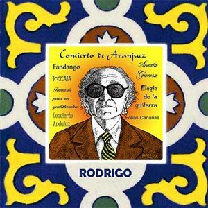 Joaquin Rodrigo is best known for his 'Concierto de Aranjuez'. He was blind from the age of three. Although much of his work is for the guit...