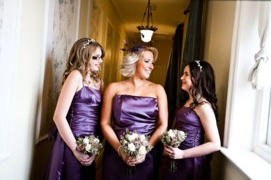 Purple wedding Ideas: Dresses Fashion, Bridal Dresses, Wedding Ideas, Real Wedding, Colors Schemes, Purple Wedding, Bridesmaid Bridal, Wedding Bridesmaid, Flower