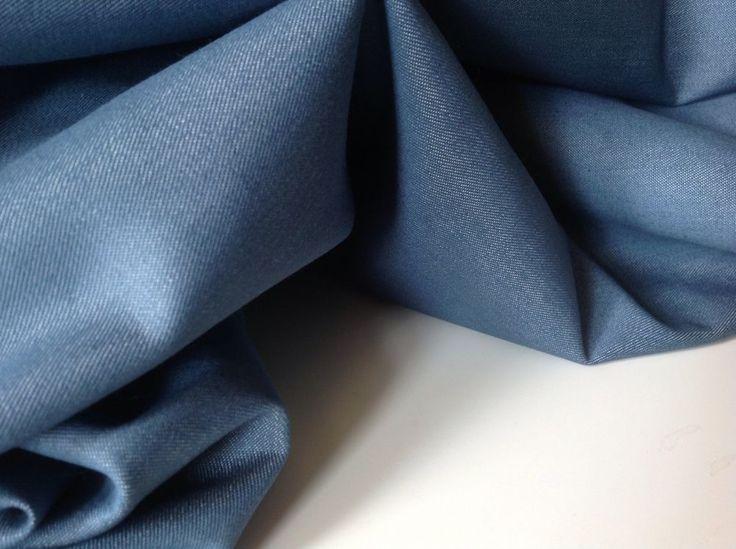 "Cotton Denim Chambray Fabric 59""151cm Trouser Weight 22.1kg Cloth Garment Art in Crafts, Fabric | eBay"