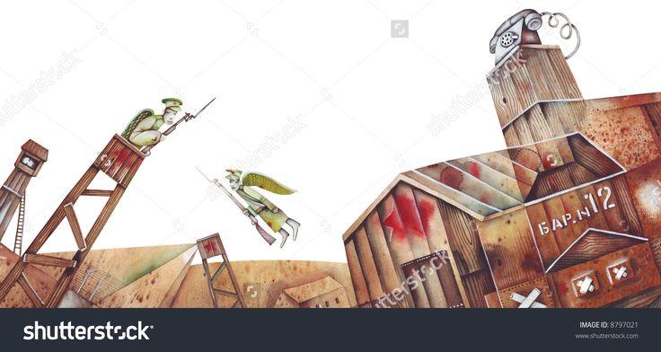 Communist Concentration Camp Gulag by Eugene Ivanov. #eugeneivanov #gulag #genocide #solzhenitsyn #camps #russian #archipelago #prison #soviet #russia #war #freedom #stalin #putin #lenin #human_rights #gulag_archipelago #@eugene_1_ivanov