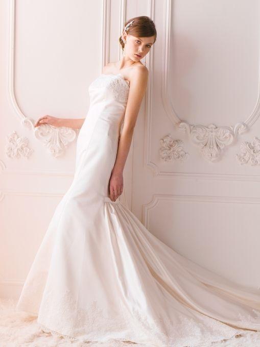 白のマーメイド ウェディングドレス・花嫁衣装のまとめ一覧♡