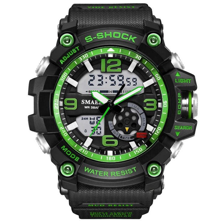13.29$  Buy here - http://alis1o.shopchina.info/go.php?t=32789124481 - Drop Shipping Fashion Men Sports Watches Male S Shock Watch Casual Quartz LED Digital Waterproof Swimming Military Wristwatches  #shopstyle