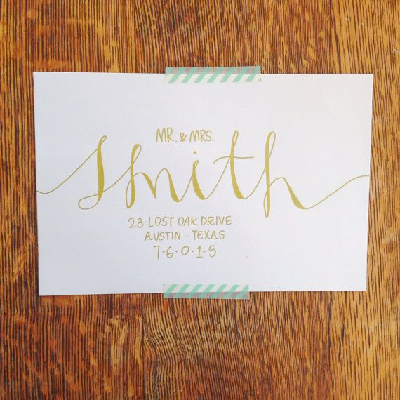 1000 Ideas About Hand Lettering Envelopes On Pinterest
