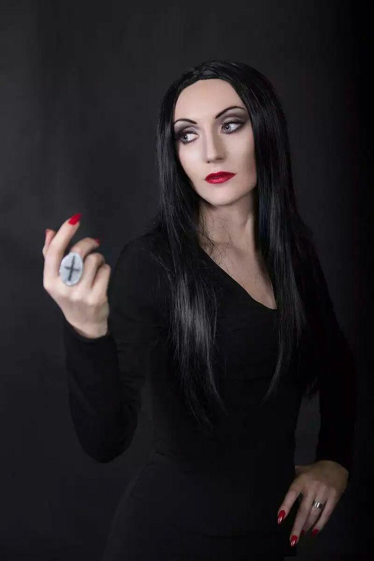 morticia addams by dea vesta myx | Female, Beauty, Party