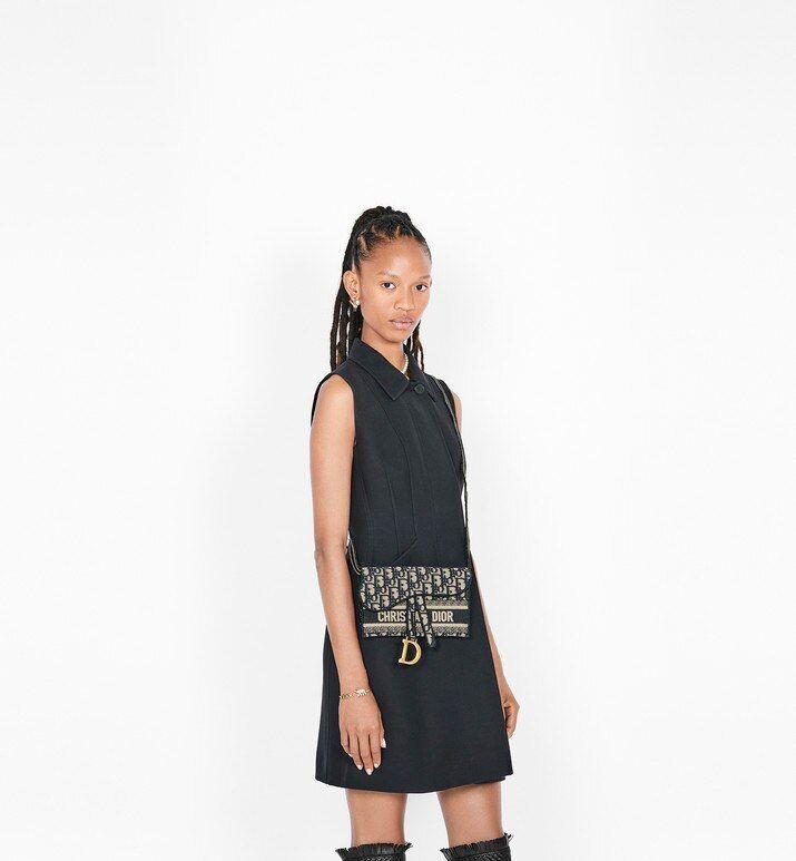 Blue Saddle Dior Oblique Pochette Bags Women S Fashion Dior Damesmode Couture Dior