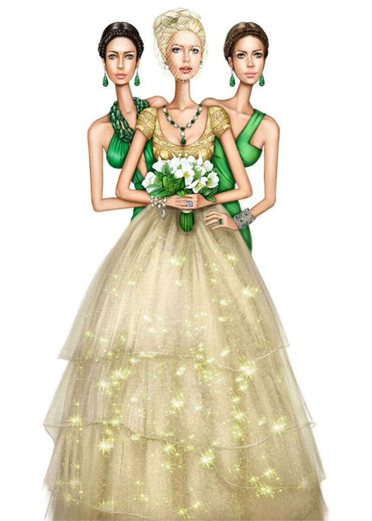 Pergamino #Fashion #Illustration #Bridal