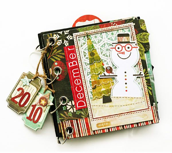 December Daily by Kelly Goree.December Daily, Minis Album, Decs Daily, Mini Albums, Minis Scrapbook, Daily Ideas, December Scrapbook, Kelly Gore, Daily Scrapbook