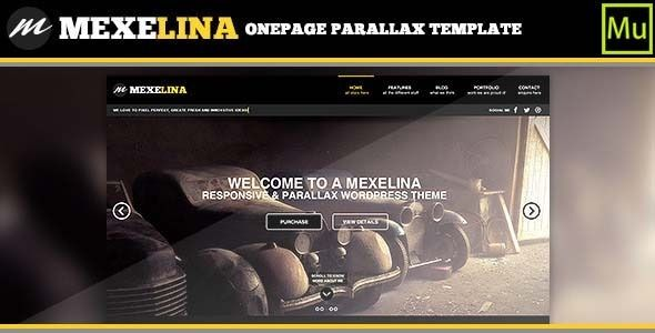 Mexelina Creative Muse Template