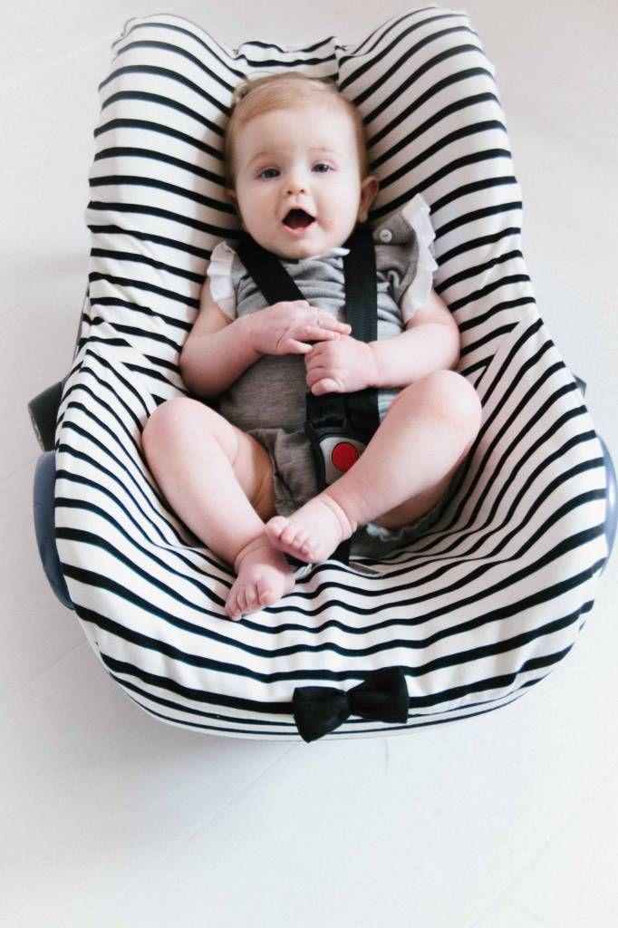 Car seat cover - Breton #car #seat #cover #breton #stripes #baby #home #kids #children #fashion #mode