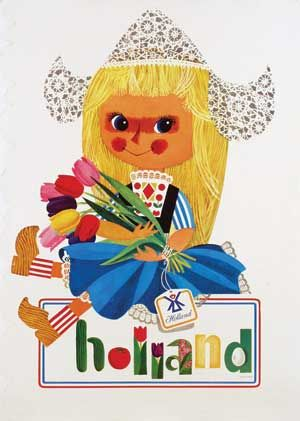 Holland by Cornelius van Velsen (1950s)