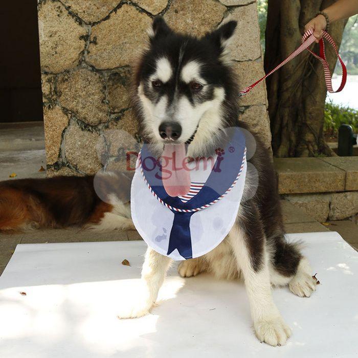 Pet Supplies Navy Dog Saliva Scarf Neck Pet Triangle Scarf Pet Accessories Navy Dog Pet Accessories Pet Supplies
