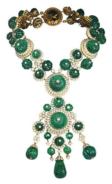 This beacutiful necklace belonged to Princess Salimah Aga Khan