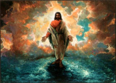 pictures of black jesus walking on water | And He Walked on Water by Katherine Roundtree