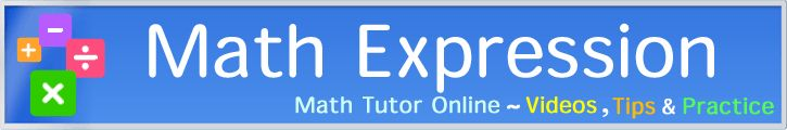 Math Expression--online tutorials to help students visualize math ideas better