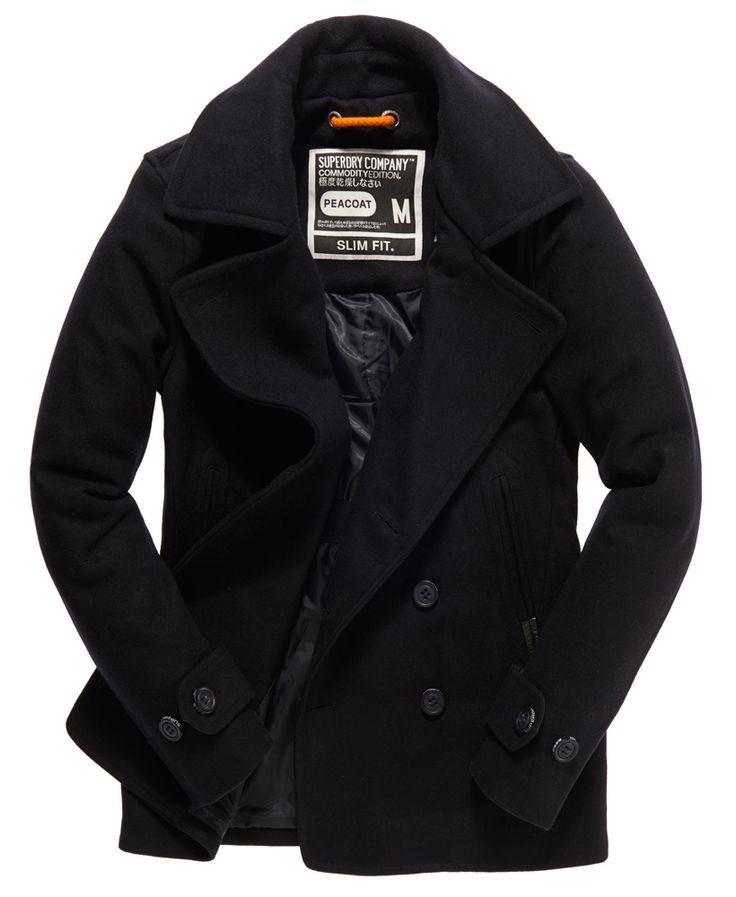 Best 25  Mens pea coat sale ideas on Pinterest | Mens coats on ...