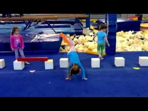 Lever kicks for preschool/beginners! - YouTube
