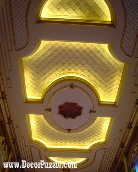 Luxury European Ceiling For Modern Home: Latest Pop False Ceiling Design Catalogue For Luxury