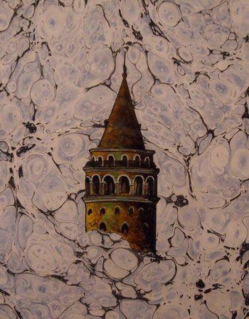 Turkish Ebru Art