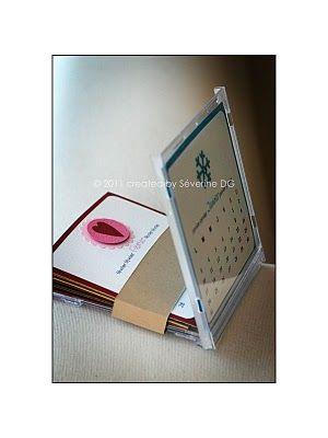 calendar in a cd box