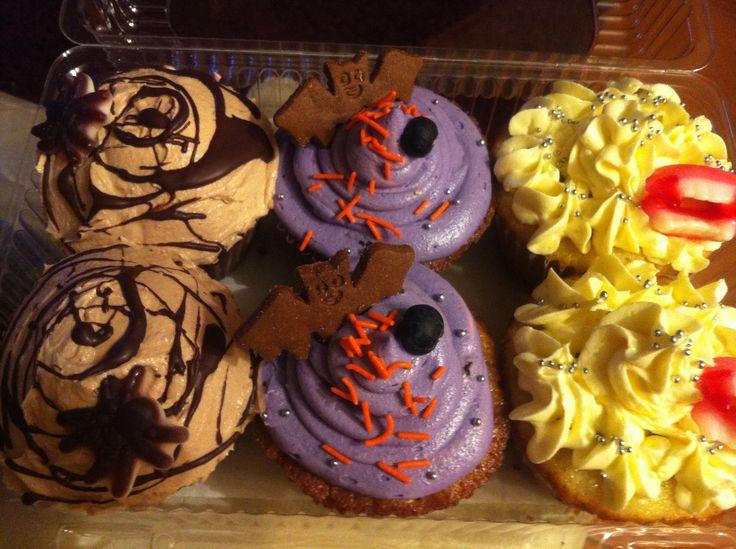 Cupcakes de chocolate, de arándanos y de limón... terroríficos ! :D
