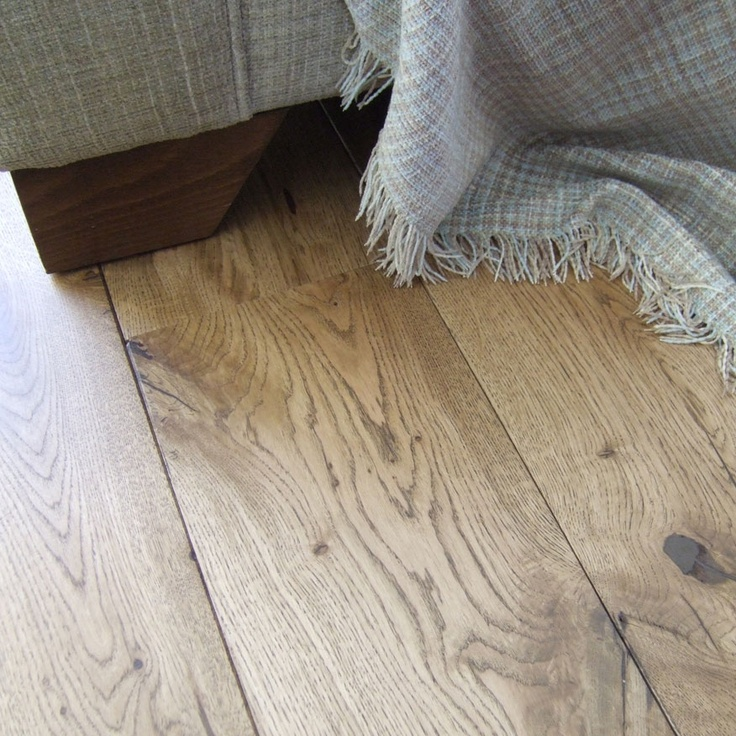 Rustic French Oak Flooring Finished With Cognac Osmo Oil
