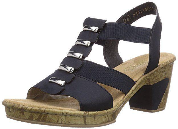 Rieker 69792 Women Open Toe Damen Sandalen Blau Pazifik 14 36 Eu Schuhe Damen Schuhe Aufbewahren Sommerschuhe Sommer Fashion Sandals Trendy Shoes Rieker