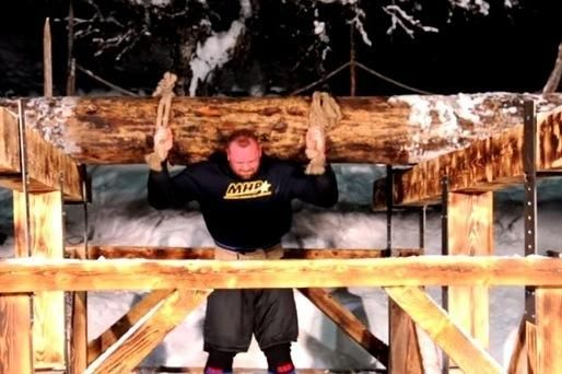 "As if there was any doubt,  Hafthor   Bjornsson —aka ""The Mountain"" from  Game of Thrones— recently proved that he is a very strong man.  The Mountain had already been named  Europe's strongest man ...He now has broken a 1000 year-old record"
