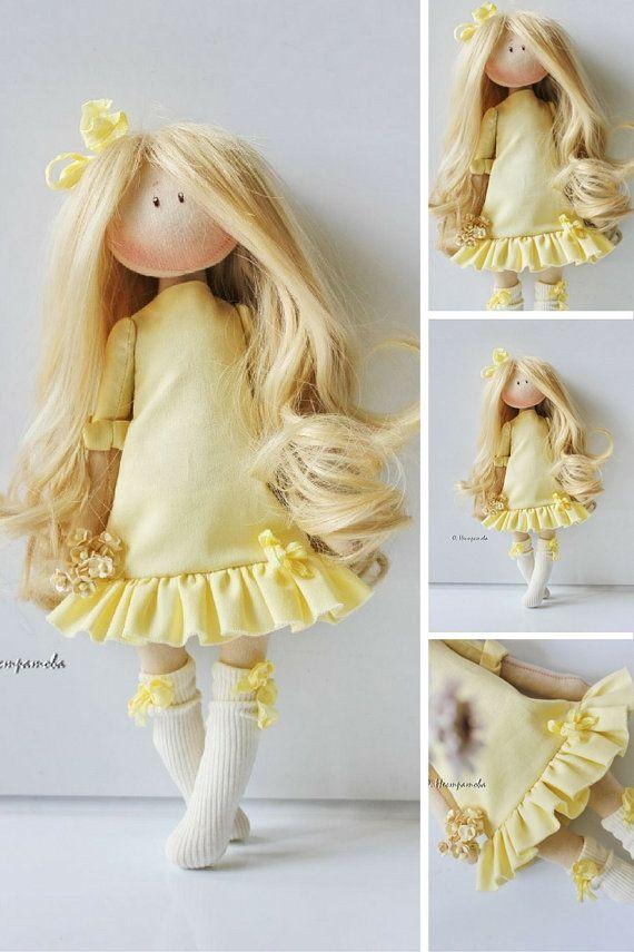 Señora muñeca muñeca suave textil muñeca muñeca Interior hecha