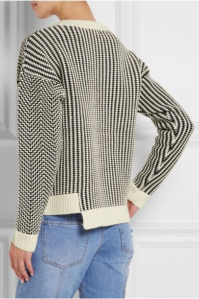 Opening Ceremony | Asymmetric knitted sweater