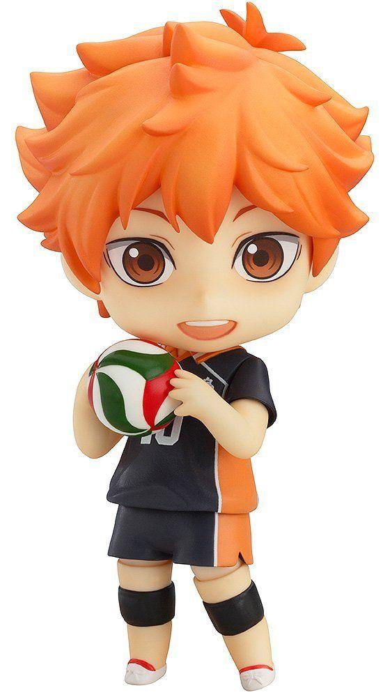 Nendoroid 461 Haikyu Shoyo Hinata Figur Good Smile Company von Japan Action- & Spielfiguren