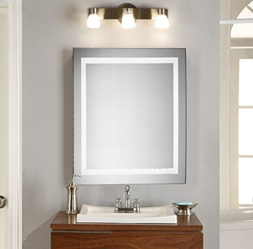 square vanity mirror with lights. Wall Mount Lighted Mirror 28 x LED Bathroom Vanity  Square Mounted Design With a Built in Defrosting System For An Elegant Addition Silver 90 best Mirrors images on Pinterest vanity