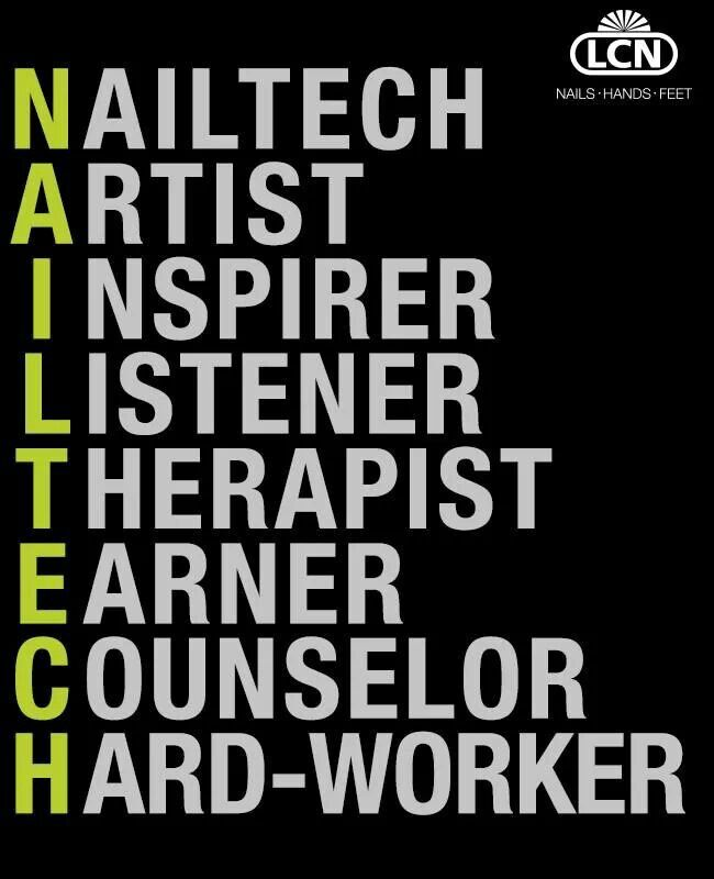 So true! Love our fabulous nail techs here at Treuvis!!!