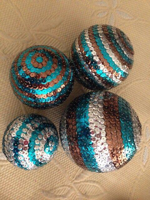 Esferas de lentejuela