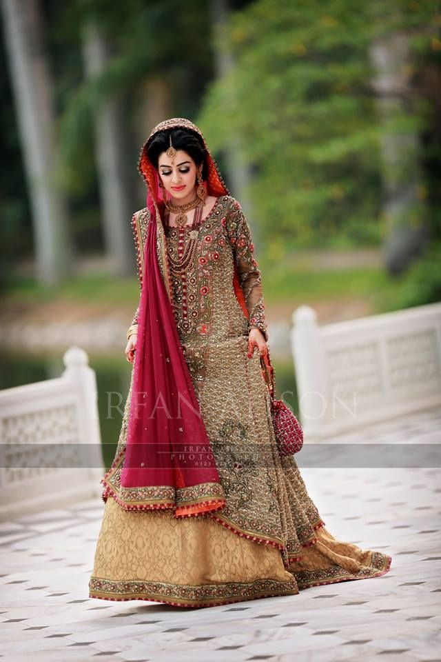 Best Bridal Barat Dresses Designs Collection 2016-2017 | StylesGap.com