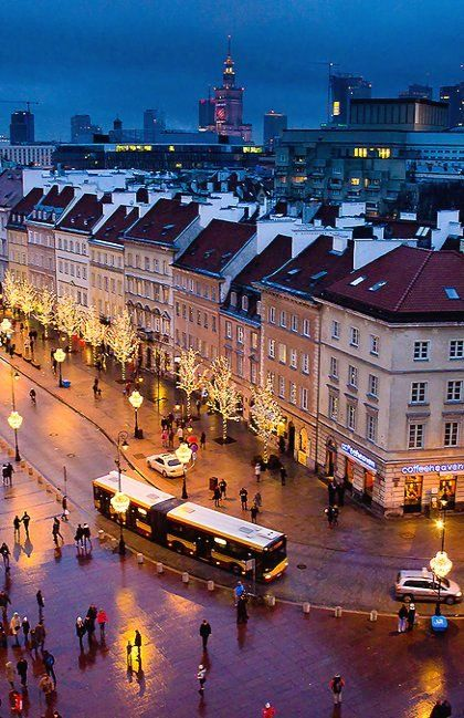 Christmas time in Warsaw, Poland | by Mike Lesaski