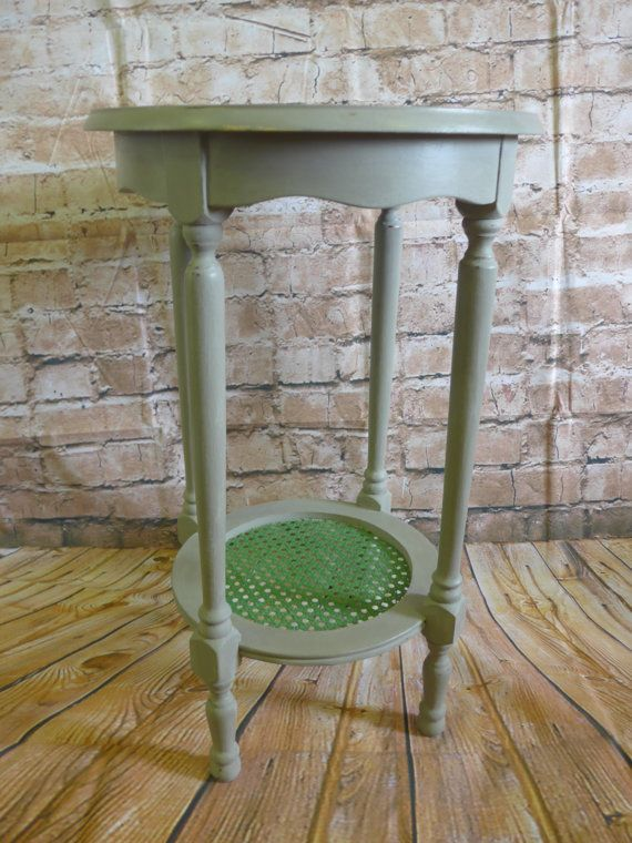 Side Table/Plant Stand/Conservatory Table Shabby by RevampedUp