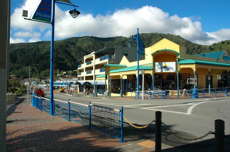front street along foreshore of Picton