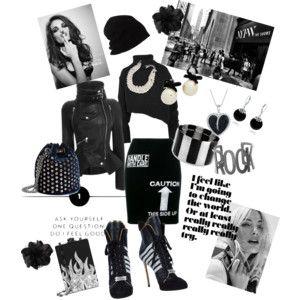 I´m feeling good - Cítím se dobře - styling - městský outfit převážně v černé.