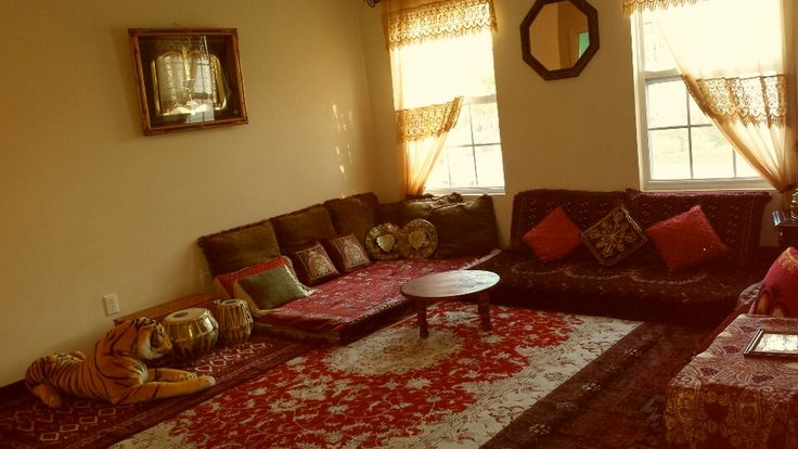 Afghan Sitting Room Afghan Style Room Couch Home