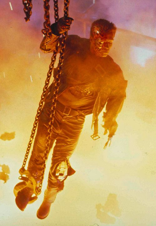 "#9. Terminator 2. ""I know now why you cry...but it's something I can never do."""