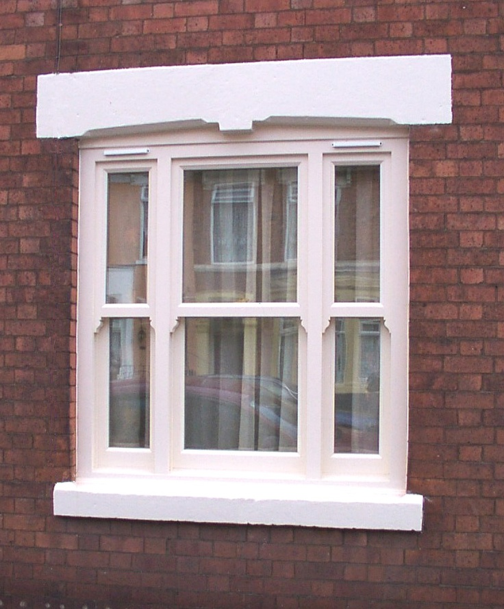 Venetian sash window by Merrin Joinery #Venetian #Sash #Window #VenetianSashWindow
