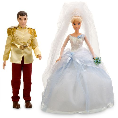 Disney Princess Once Upon a Wedding Prince Charming and Cinderella Doll Set | por Madambrightside