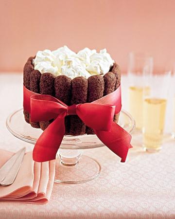 Chocolate-Coconut Charlotte - Martha Stewart Recipes