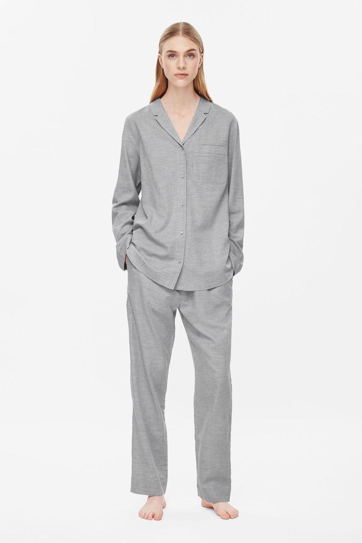 COS - Flannel pyjama top