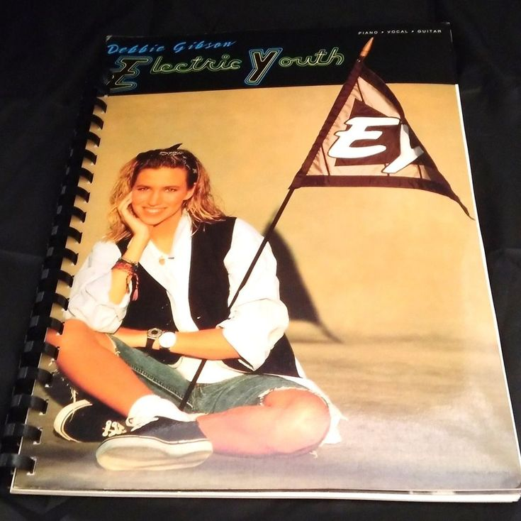 Debbie Gibson Electric Youth Song Sheet Printed Music Book Piano Guitar Vocal